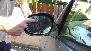 1 minute to replace a side mirror glass youtube