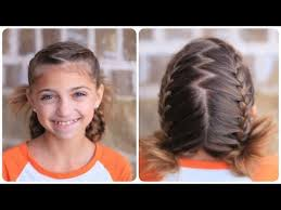 cute girl hairstyles how to french braid soccer french braids cute girls hairstyles youtube
