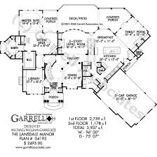 manor house plans lansdale manor house plan house plans by garrell associates inc