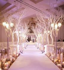 Wedding Trees 34 Magical Winter Wonderland Wedding Ideas Weddingomania