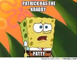 Spongebob Krabby Patty Meme - new patrick spongebob meme spongebob squarepants krabby patty