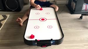 kids air hockey table ancheer 40 air hockey table for kids and adults youtube