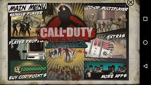 call of duty black ops zombies android apk mod call of duty black ops zombies ver 1 0 8 android m only