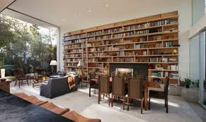 Home Library Design Ideas For A Remarkable Interior - Living room designs 2012