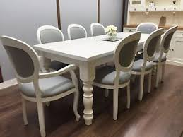 shabby chic farmhouse table farmhouse table vintage french 8 upholstered chairs shabby chic