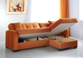 little couch for bedroom a rainbow orange sectional with storage