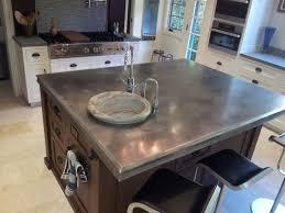 metal top kitchen island best 25 zinc countertops ideas on metal countertops