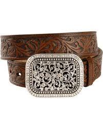 floral belt ariat floral leather belt sheplers