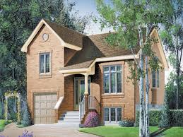 Bi Level House Plans With Attached Garage House Split Level Entry House Plans Split Level Entry House Plans