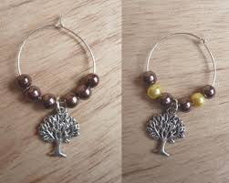 thanksgiving wine glass charms thanksgiving gift table
