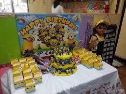 Minion Birthday Decorations Minion Birthday Theme U2013 The Life Of A Runner