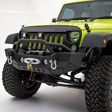 jeep prerunner bumper amazon com restyling factory rock crawler front bumper with fog