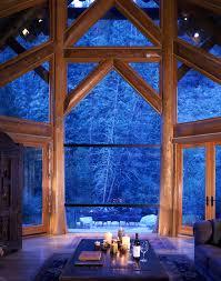 House Design Large Windows by Edgewood Custom Log Homes Logs Cabin And Log Cabins