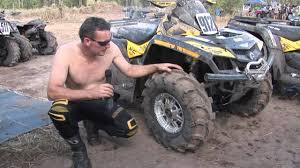 itp mud light tires itp mud lites review with bullet wmv youtube