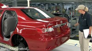 toyota cars official website toyota corolla manufacturing toyota corolla production and