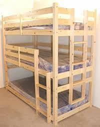 3ft Bunk Beds 3 Tier Bunkbed 3ft Single Sleeper Bunk Bed