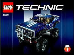 lego 4x4 crawler exclusive edition instructions 41999 technic