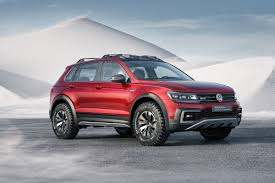 volkswagen alltrack offroad the volkswagen tiguan gte active concept is an extreme off road
