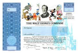 10 best images of disney stock certificates printable walt