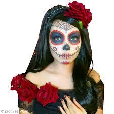 Sugar Skull Halloween Costumes Diy Maquillage Halloween Fête Des Morts Mexicaine Idées