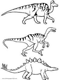 megalosaurus dinosaur coloring pages dinosaurs silhouettes