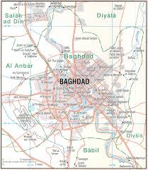 baghdad on a map iraq maps perry castañeda map collection ut library