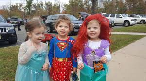 Superhero Family Halloween Costumes Hundreds Attend Sixth Annual Fright Night Halloween Event In