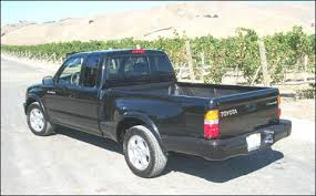 Tacoma Bed Width Pickuptruck Com First Drive 2001 Toyota Tacoma Double Cab And S