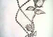 100 rose beads tattoo secret ink tim roses black and grey
