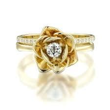 flower shaped diamond ring flower shaped engagement rings flower