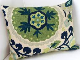 Lumbar Pillows For Sofa by Pillows Navy Blue Throw Pillow For Couch With Geometric Design