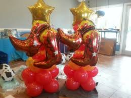western balloon decorations google search western party