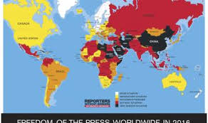 america map no borders the united states ranks 41st in reporters without borders 2016
