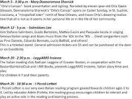 consulate general of italy in boston newsletter march 2016