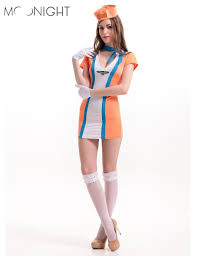 Halloween Flight Attendant Costume Cheap Pilot Stewardess Costume Aliexpress