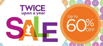 disney store upon a year sale is now 60 saving