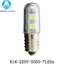 Refrigerator Light Bulbs Led Work Light Chandelier 220v E14 1 5w 3w Led Small Mini Bulb