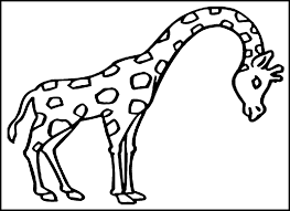 cute giraffe coloring pages free printable giraffe coloring pages