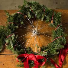holiday hack turn a bike wheel into a wreath rei co op journal