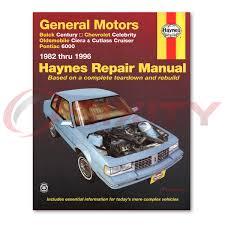 oldsmobile cutlass ciera haynes repair manual international gt