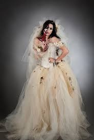Corpse Bride Halloween Costume 15 Romantic Halloween Wedding Dress Ideas Zombie Bride