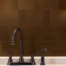 Kitchen Backsplash Metal Ideas Rend Hgtvcom SurriPuinet - Bronze backsplash tiles