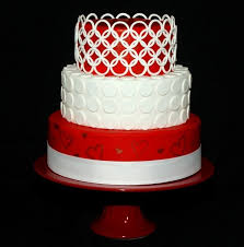 wedding cake red white images about wedding cakes red white on