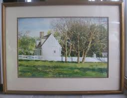 david coolidge colonial williamsburg watercolor location