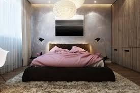 Modern Platform Bed With Lights - bedroom modern platform bed with upholstered headboard also