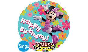 singing birthday balloons singing balloons singing birthday balloons party city