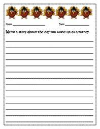 thanksgiving writing prompts by ms teachers pay teachers