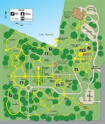 Map Of Orlando Fl Leu Gardens Map Color 6 16 Leu Gardens