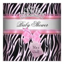 zebra baby shower zebra print baby shower invitations theruntime