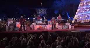 2017 national christmas tree lighting national christmas tree lighting 2017 hallmark channel